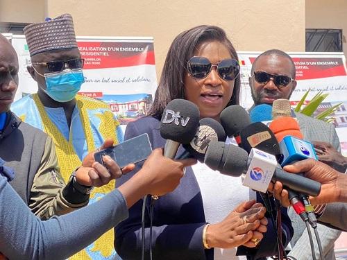 VICTORINE NDEYE, SECRETAIRE D'ETAT AU LOGEMENT : « De 4000 logements par an, nous devons passer à 20 000 »