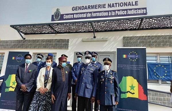 Programme de Coopération SENSEC-UE : L'UE  inaugure le Centre National de formation de la Police Judiciaire
