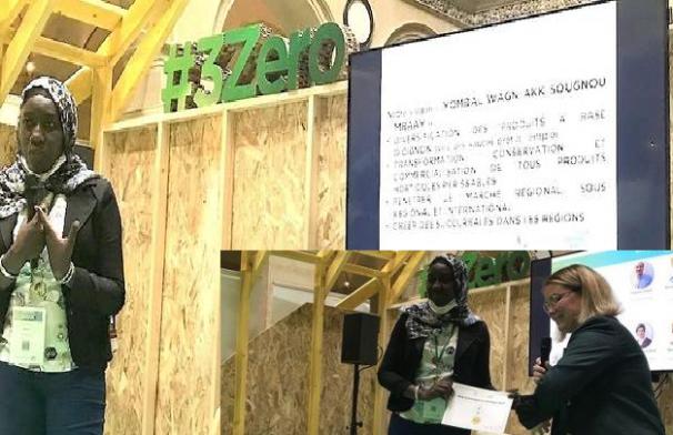 Entreprenariat : Aminata Sow Ndiaye primée pour son projet de valorisation de l'oignon sénégalais