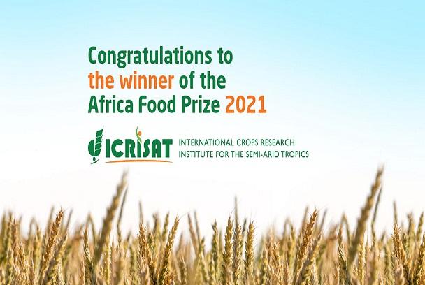 Prix de l'Alimentation pour l'Afrique 2021: L'institut international ICRISAT honoré