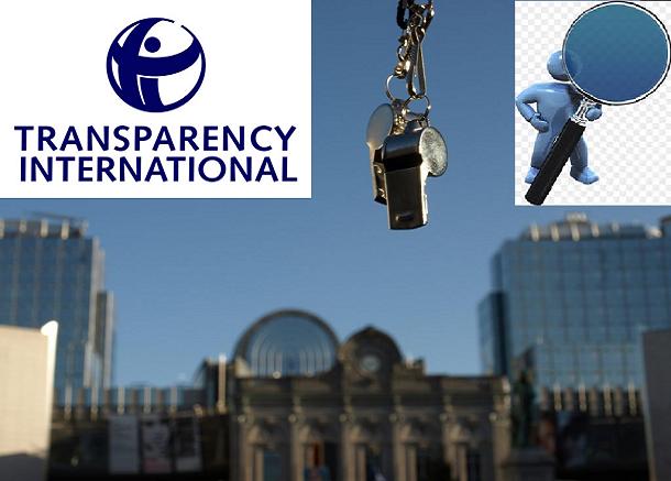 infos Hebdomadaires de Transparency International :  Les données ne mentent pas