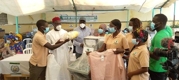 COMMUNE DE GRAND-YOFF : Don de matériels médicaux d'une valeur de 360 millions aux structures de santé