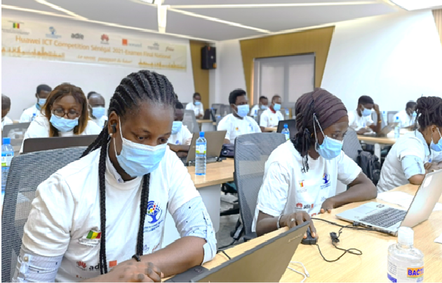 Huawei ICT Competition Sénégal 2021 : Examen National Final s'est tenu samedi