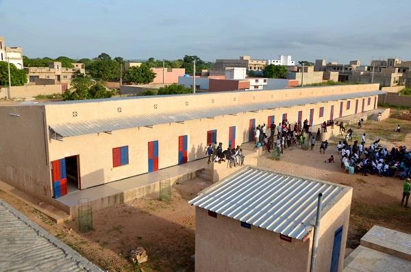 RESPONABILITE SOCIETALE D'ENTREPRISE DE DANGOTE CEMENT SENEGAL : L'école primaire de Sant Yalla de Pout réalisée à hauteur  de 47,5 millions de FCFA